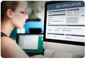 越南签证申请表
